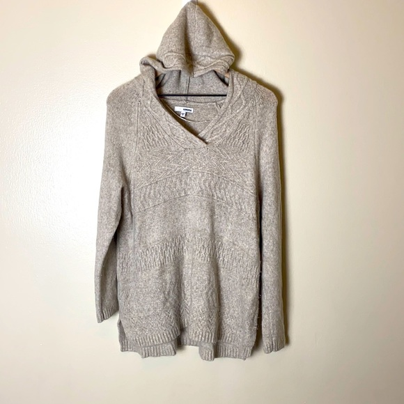 Sonoma knit sweater hoodie gray size 1X